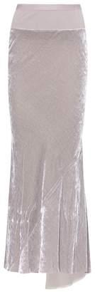 Rick Owens Velvet skirt