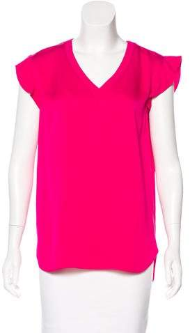 Kate Spade New York Sleeveless V-Neck Blouse