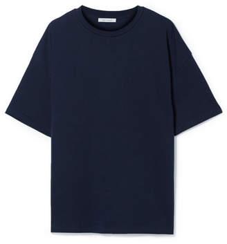 Ninety Percent - Faye Oversized Organic Cotton-jersey T-shirt - Navy