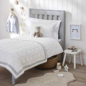 The White Company Dream Quilt, Grey, Cot Bed