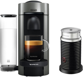 De'Longhi DeLonghi Nespresso Vertuo Plus Coffee & Espresso Single-Serve Machine And Aeroccino Milk Frother