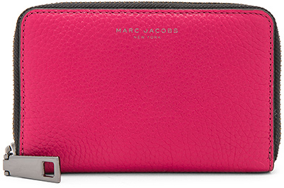 Marc Jacobs Marc Jacobs Gotham Saffiano Small Standard Wallet