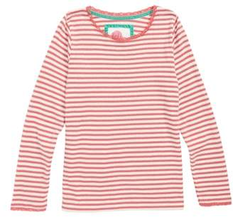 Boden Mini Sparkly Pointelle Tee
