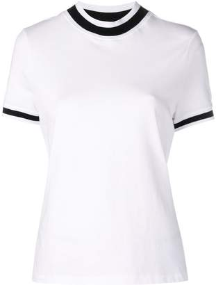 Alexander Wang cropped round neck T-shirt