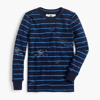 J.Crew Kids' pajama set in scuba stripes