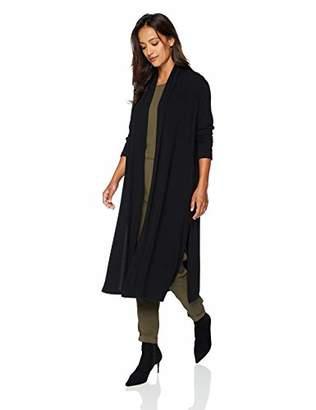 Karen Kane Women's Long Shawl Collar Cardigan