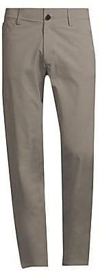 Theory Men's Tech Raffi Straight-Fit Stretch Pants