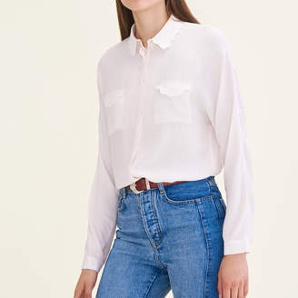 Maje Silk blend shirt