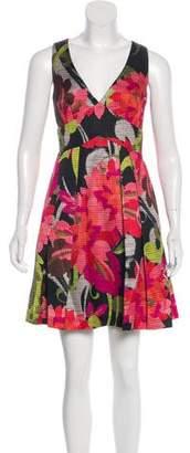 Trina Turk Floral Shift Mini Dress