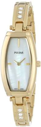 Pulsar Women's PM2056 Analog Display Japanese Quartz Gold Watch
