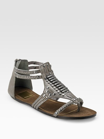 Dolce Vita Estelle Metallic Thong Sandals