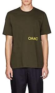 "Oamc Men's ""Hare"" Cotton T-Shirt - Olive"