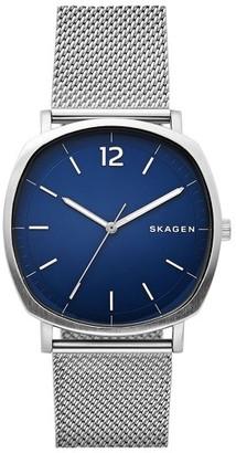 Men's Skagen Rungsted Mesh Strap Watch, 40Mm $175 thestylecure.com