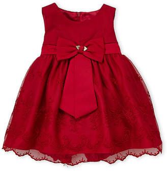 Princess Faith (Infant Girls) Bow Front Tank Dress