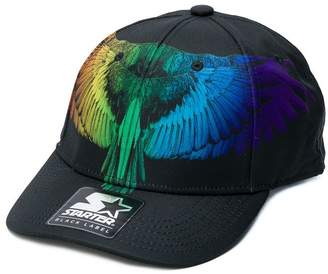 Marcelo Burlon County of Milan Kids Rainbow Wings print cap