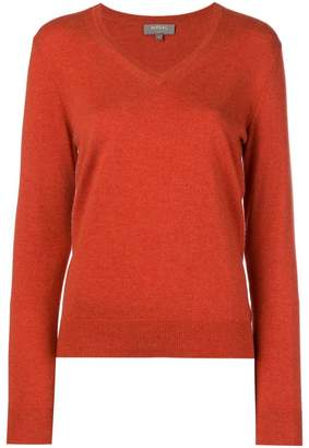 N.Peal v neck knitted sweater