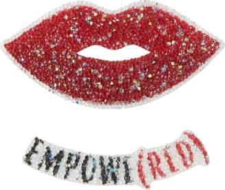 MCM Red Lips Sticker