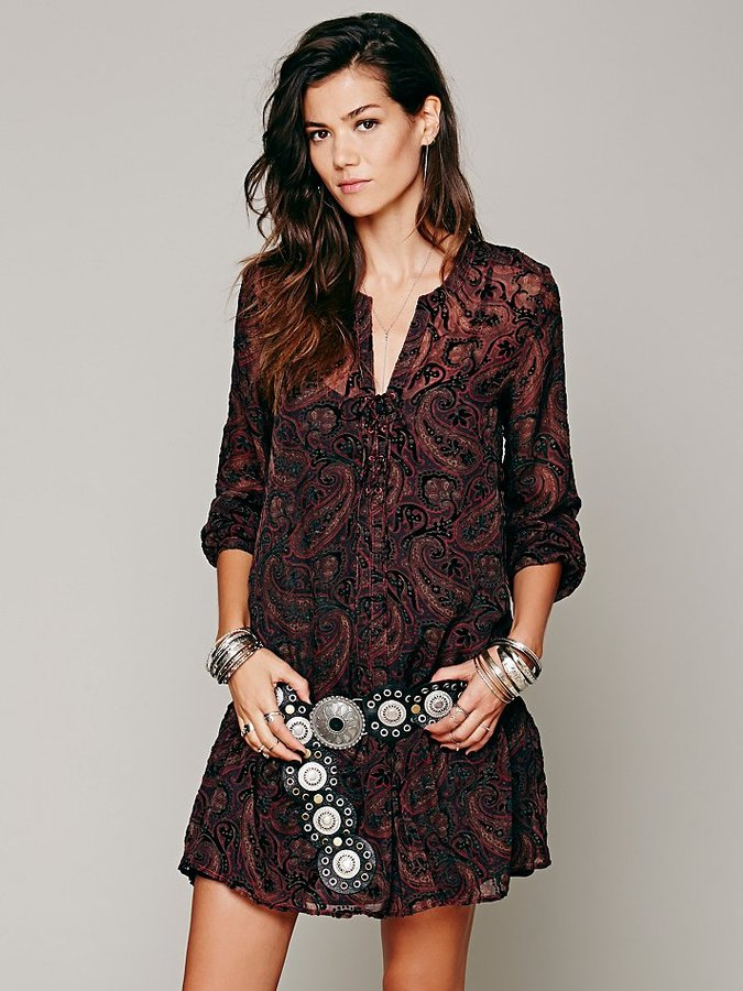 Free People Are You Dreamin' Burnout Dress