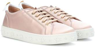 Aquazzura LA satin sneakers