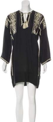 Etoile Isabel Marant Embroidered Midi Dress