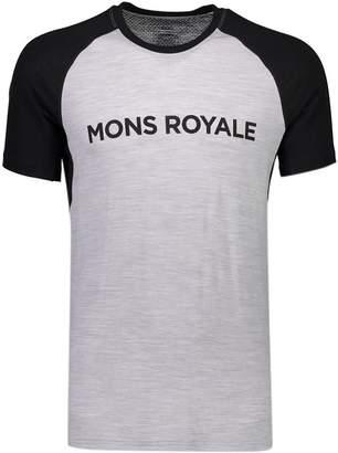 Mons Royale Temple Raglan Tech T-Shirt - Men's