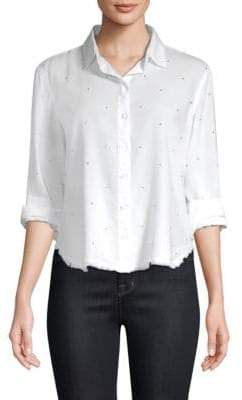 Bella Dahl Polka Dot Blouse
