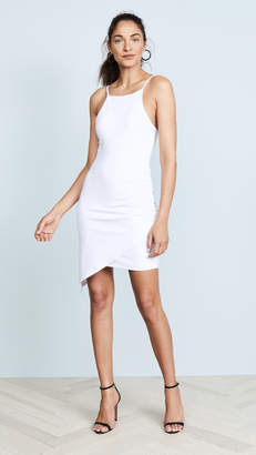 Susana Monaco Asymmetrical Gathered Dress