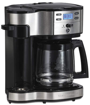 Hamilton Beach The Scoop Two Way 12-Cup Brewer Coffee Maker