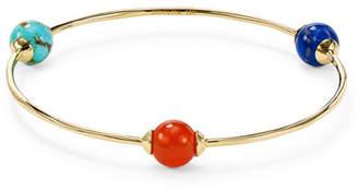 Ippolita 18K Gold Nova 3-Station Bangle Bracelet