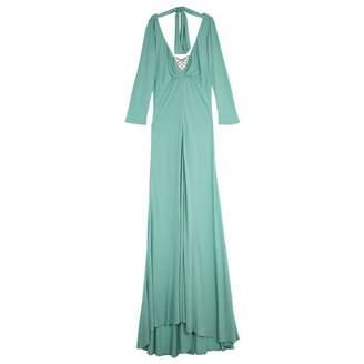 Elie Saab Blue Linen Dresses