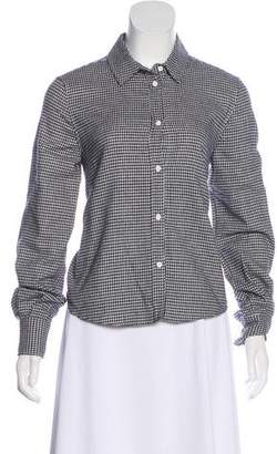 Boy By Band Of Outsiders Gingham Button-Up Top