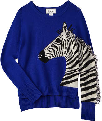 Autumn Cashmere Kids Wool & Cashmere-Blend Sweater