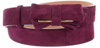 Salvatore Ferragamo Bow-Accented Waist Belt