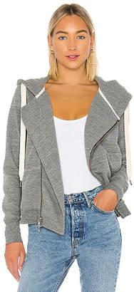 NSF Walker Asymmetrical Zip Hoodie