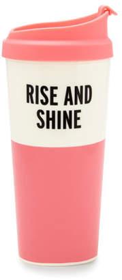 "Kate Spade Rise And Shine"" Thermal Mug"