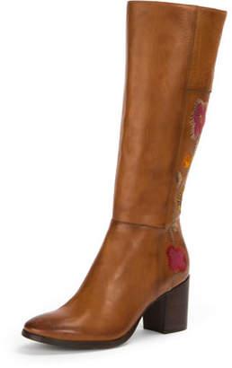Frye Nova Flower Tall Knee-High Boot