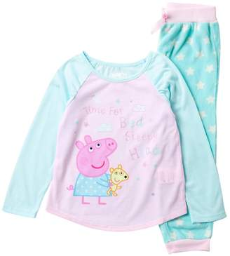 Peppa Pig Komar Jogger Sleep Set (Toddler Girls)