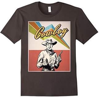 Vintage Cowboy Shirt - Retro Cowboy Shirt