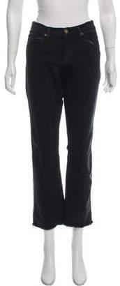 BA&SH Mid-Rise Straight Leg Jeans