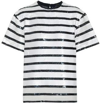 Polo Ralph Lauren Striped sequined T-shirt