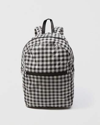 Abercrombie & Fitch Baggu Gingham Backpack