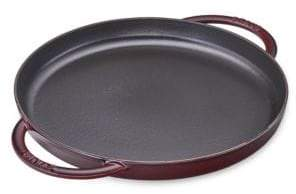"Staub 10"" Round Double Handle Pure Griddle"