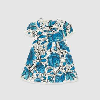 Gucci Baby dress with watercolor flowers