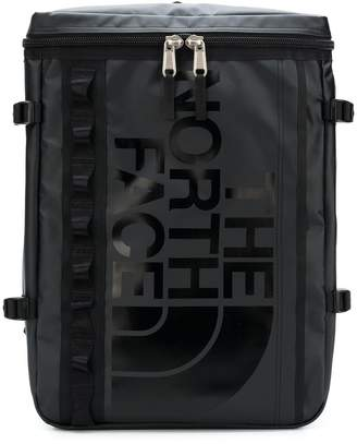 The North Face printed shell backpack