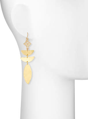 Devon Leigh Abstract Diamond-Illusion Earrings