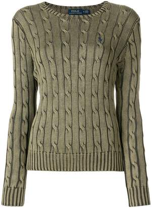 Polo Ralph Lauren twist knit jumper