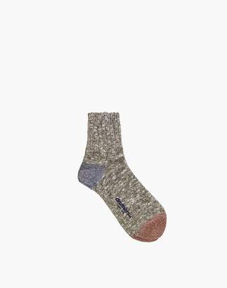 Madewell Druthers Quarter-Length Recycled Cotton Socks