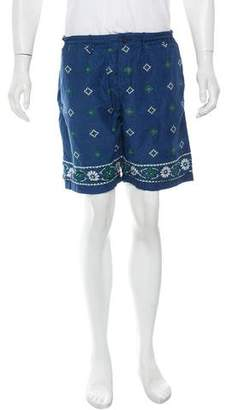 Trunks Burkman Bros Printed Swim Shorts