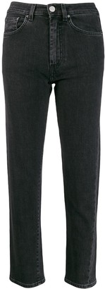 Totême straight cropped jeans