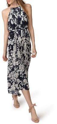 Women's Donna Morgan Print Chiffon Midi Dress $128 thestylecure.com